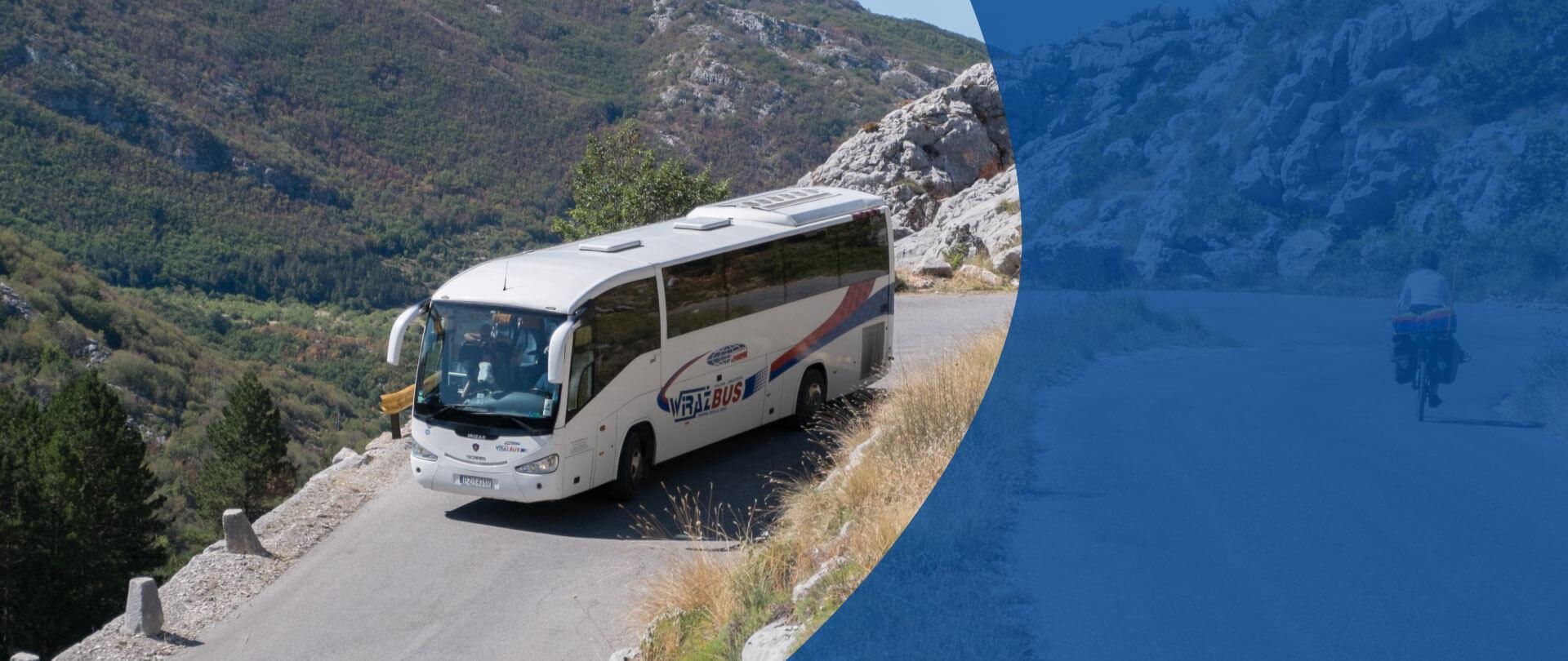 Wynajem autokarów Wiraż-Bus